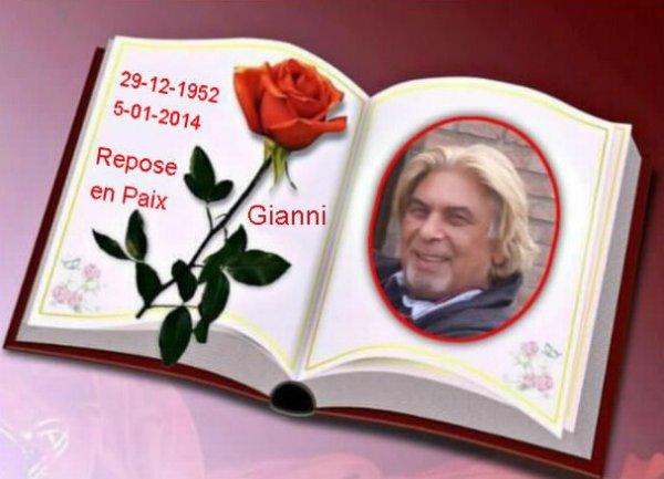 ♥ Gianni Polizzi ♥ Repose En Paix ♥ Avec les autres artistes dans ciel ♥