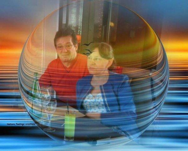 Nous dans une bulle