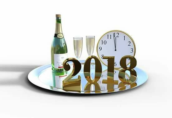 Santé et bonheur pour cette nouvelle année 2018