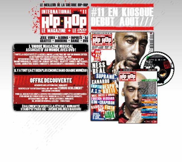 le clip mauvaise foi dans le dvd international hiphop magazine 11 dans vos kiosques !
