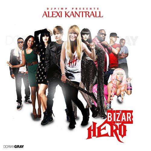 """Voici la cover du nouveau projet d'alexi kantrall """"Bizar Hero"""" qui sortira à la fin du mois ! mais comme une bonne nouvelle n'arrive jamais seule, histoire d'avoir un avant gout, un petit clip de Diomay extrait de ce projet"""