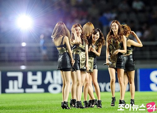 After School au FIFA World cup BRAZIL 2014