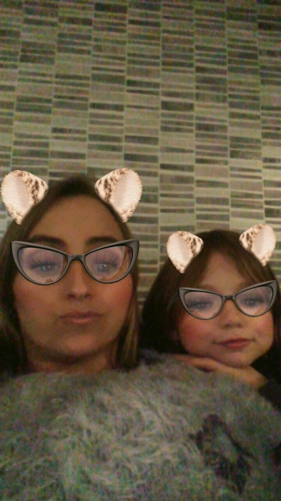 ma fille lea 9ans et moi