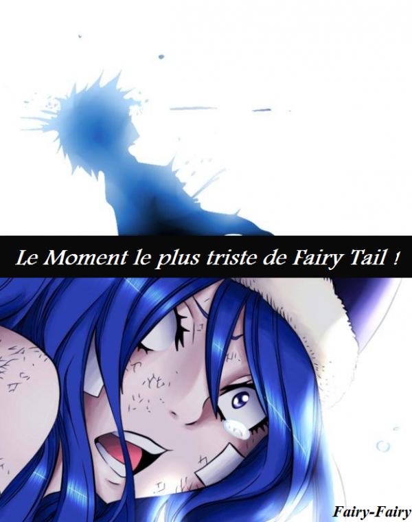 Le moment le plus triste pour fairy tail !! Et pour léon, ultya, meldy