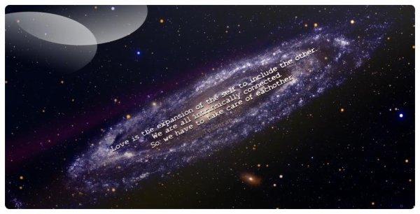 Amoureuse de l'Univers et de la vie