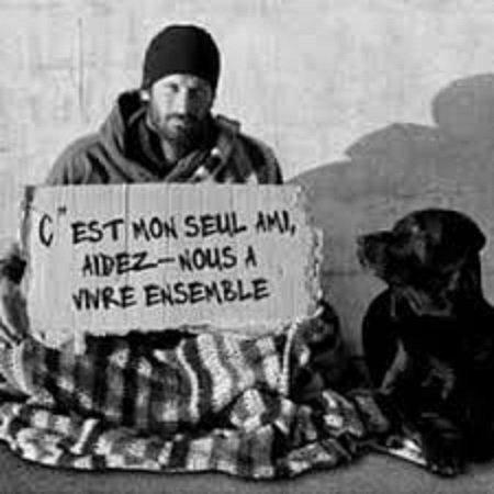 A CHARLEROI (BEL),LA MENDICITÉ SERA RÉGLEMENTÉE.