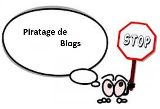 NON AU PIRATAGE DE BLOGS.