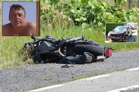Beloeil: Violemment percuté, un Villerotois de 54 ans se tue à moto
