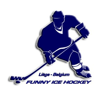FUNNY ICE HOCKEY - TEAM LOISIRS -  LIEGE.