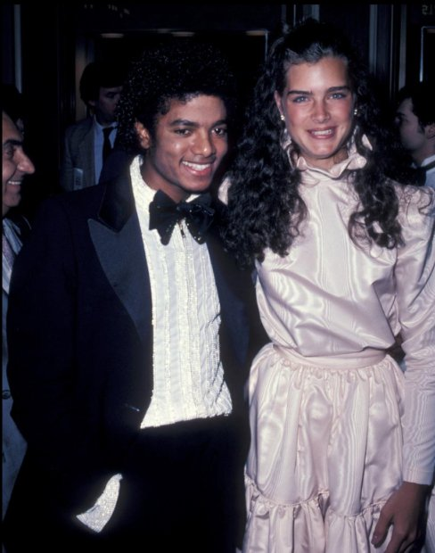 Michael et Brooke Shields
