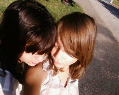 moi et ma soeurette....