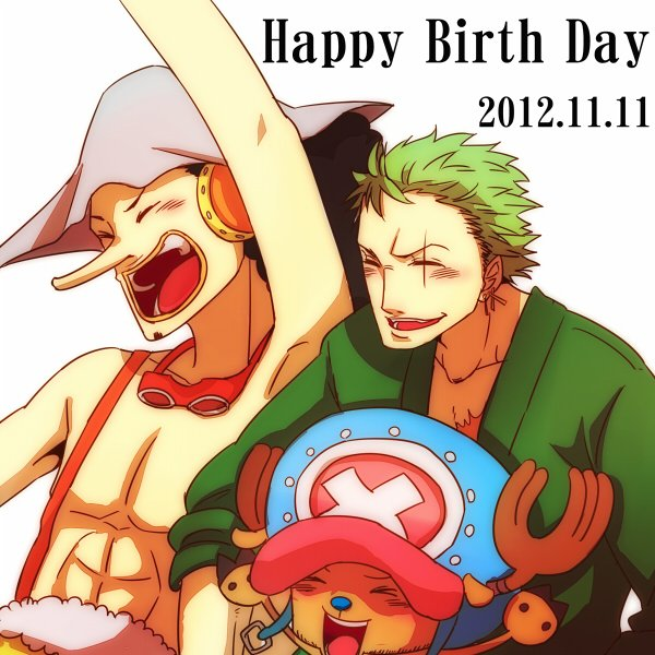 Happy Birthday Zoro & Jiraya