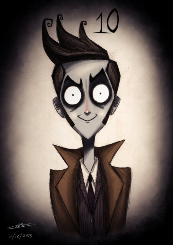 Docteur Who par Tim Burton