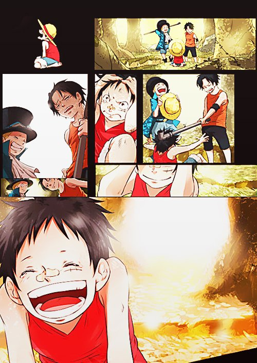 Ace & Sabo & Luffy (partie 1)