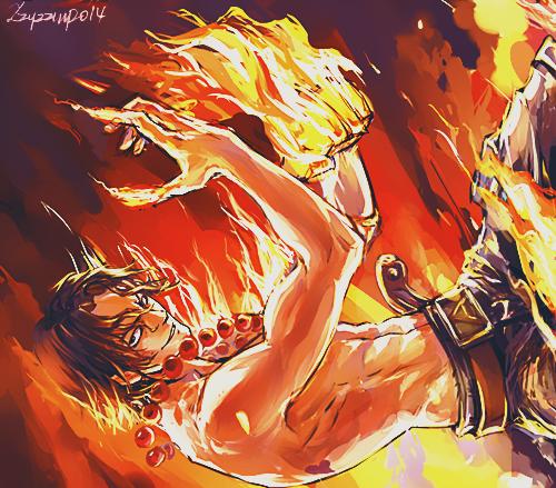 Ace & Sabo & Luffy (partie 2)