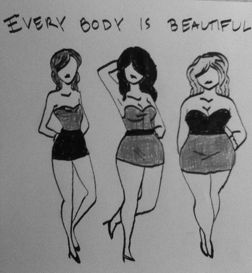 La beauté n'est pas une question de taille.