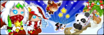 Noël arrive sur Blablaland