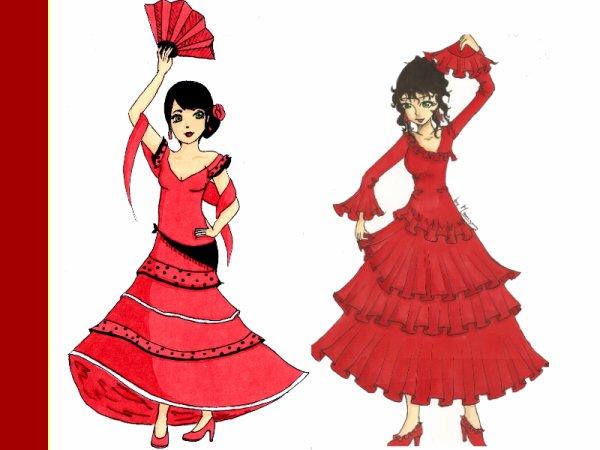 Articles de arizano tagg s novembre arizano dessiner - Dessin danseuse de flamenco ...