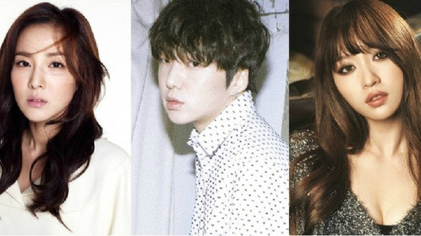 Sandara Park (2NE1), Kang Seung Yoon (WINNER) et Hani (EXID) dans un futur épisode du Drama ''producer'' !!!