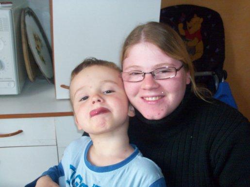 mon filleul et moi tro belle foto