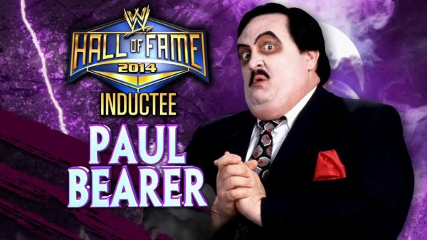 PAUL BEARER HALL OF FAME 2014