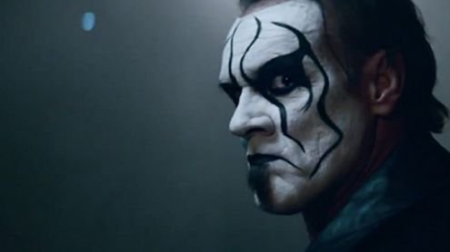 STING WELCOME TO THE WWE  :-)