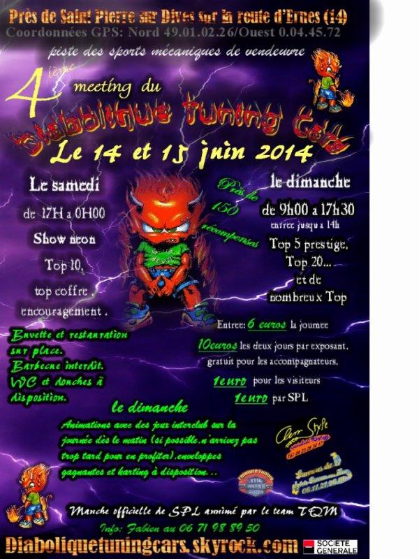 meeting 14 et 15 juin 2014