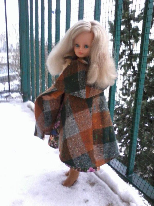 Cathie sous la neige