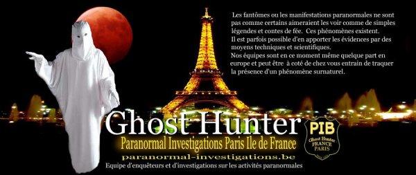 Paranormal Investigations Belgique conférence