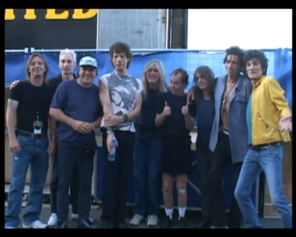 AC/DC and The Rolling Stones