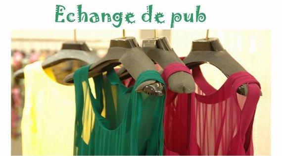 Echange de pub ♥