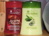 Yves Rocher et ses gels douche Une grande histoire d'amour !!!