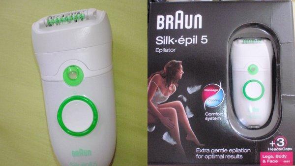 Silk Epil 5 de Braun