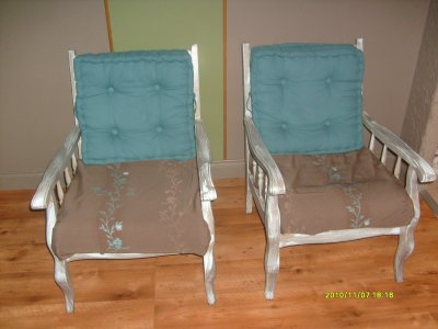 fauteuils relooker marielauremadecoamoi. Black Bedroom Furniture Sets. Home Design Ideas