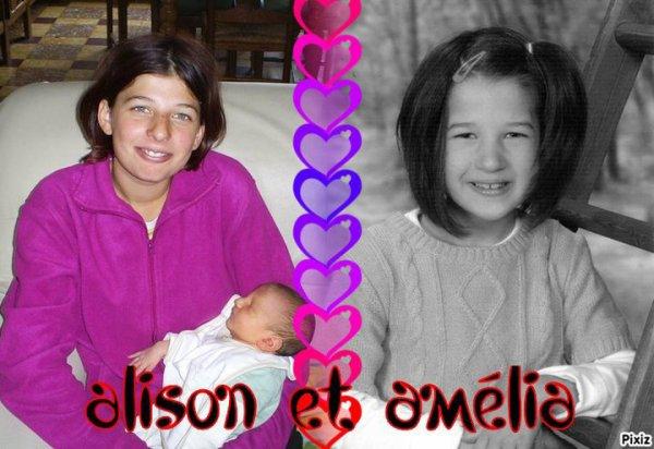 Alison et Amélia