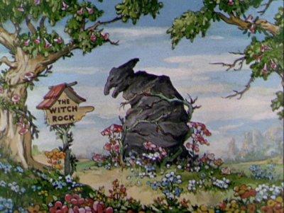 Le Rocher de la sorcière