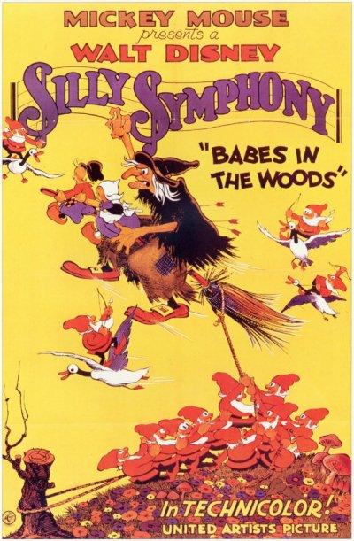 La sorcière des Silly Symphonies