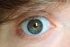 Mes yeux tout bizarre :/