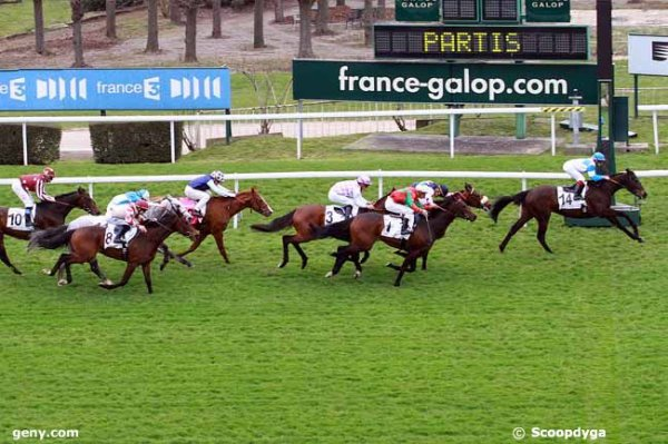 mardi  24  mars  2015   saint cloud 16 chevaux  plat 2100 mètres résultat 14 5 1 3 12