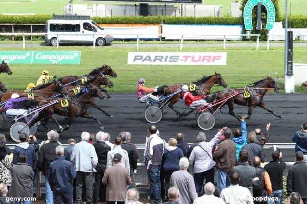 mercredi trot attelé a la croisée laroche avec 15 chevaux  ARRIVEE  12   3   6   5   7