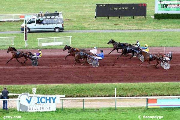 lundi vichy trot attelé prix cognet lyonne départ a 13h 50 18 chevaux résultat 17 9 16 3 10