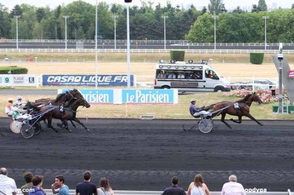 vendredi 26 juin 2015 vincennes 18 chevaux départ à 20h30 arrivée  12 2 3 4 16