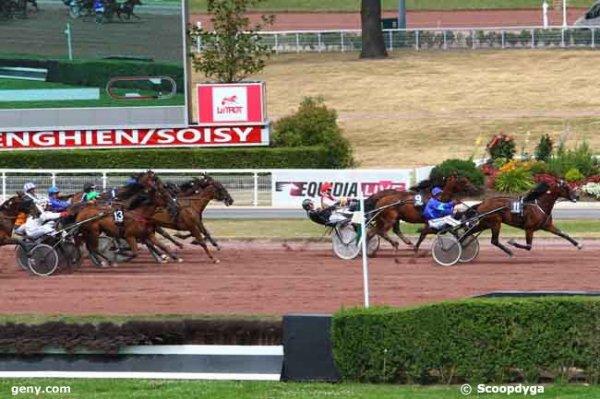 samedi 18 juillet 2015 trot attelé autostart 16 chevaux a E N G H I E N résultat 11 9 4 13 15