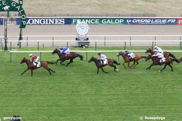 mardi 28 juillet 2015  chantilly chevaux de 3 ans plat 1600 mètres avec 16 partants arrivée 4 10 2 15 1