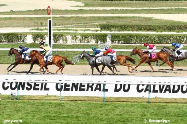 dimanche 2 août 2015 - deauville plat 1900 mètres - 16 chevaux arrivée 5 12 15 3 7