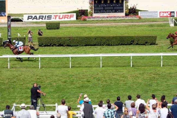 samedi 8 août 2015 CLAIREFONTAINE  quinté d'obstacle haies 3600 mètres 17 chevaux résultat  6 14 10 16 8