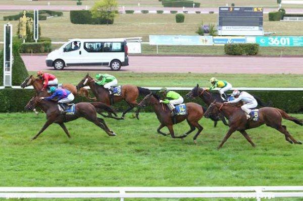mardi 1.9.2015  quinté de nancy plat 1950 mètres 16 chevaux résultat 6 1 9 14 8