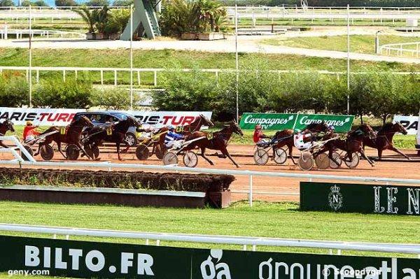 mercredi 2.9.2015 quinté de trot attelé g.n.t. à cagnes-sur-mer 18 chevaux  arrivée 7  16  13  12  2