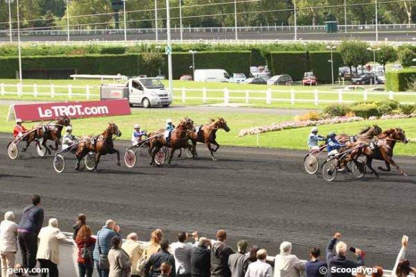 samedi 5 septembre 2015 vincennes grande piste trot attelé 15 chevaux arrivée 4 11 13 15 3