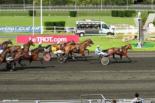 lundi 14 septembre 2015 vincennes autostart 18 chevaux prix des fleurs arrivée 2 5 8 4 12